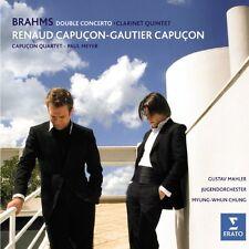 Gautier Capuçon - Brahms Double Concerto and Clarinet Quintet Op115 [CD]
