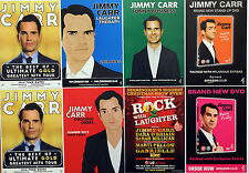 8 X JIMMY CARR FLYERS 2016 ULTIMATE GOLD TOUR - ROCK WITH LAUGHTER ETC