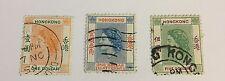 Hong Kong Sg 187/188/188 F/U Cat £7,20