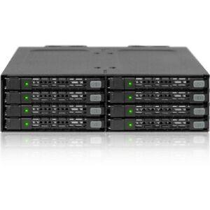 Icy Dock ToughArmor MB998SP-B Drive Enclosure for 5.25  - Serial ATA/600 Host In