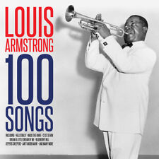 Louis Armstrong 100 SONGS Best Of 100 Essential Tracks COLLECTION New 4 CD