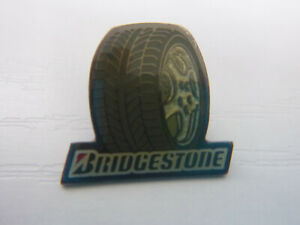 BRIDGESTONE TYRE TIE PIN / BADGE