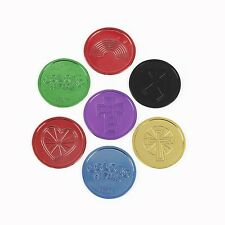 Colors Of Faith Coins (12 Pack)