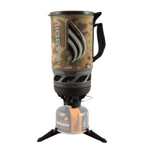 Jetboil Flash Personal Stove Cooking System Backpacking Camping Stove Camo