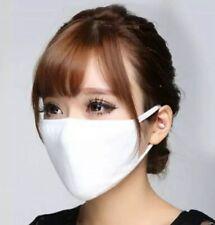 Neues AngebotMehrweg Mundmaske Atemmaske Maske Weiß Baumwolle Stoff Kpop Korea Japan Bts Exo
