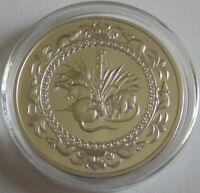 Mongolei 500 Tögrög 2008 Lunar Ratte 1 Oz Silber