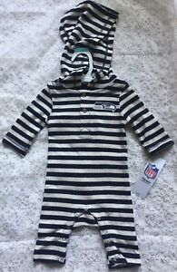 Seattle Seahawks Unisex Baby Romper Official NFL