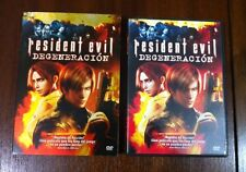 RESIDENT EVIL. DEGENERACION - ANIMACION - DVD - FUNDA METALIZADA - 92 MINUTOS