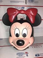 Vintage Disney Minnie Mouse Head Lunch Box By Aladdin Industries No Thermos