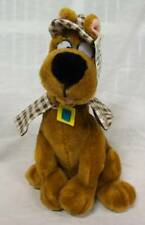 "SCOOBY-DOO DOG AS DETECTIVE 12"" Plush STUFFED ANIMAL Toy"