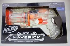 Clear Series Nerf N-Strike Maverick REV-6  LIMITED Walmart EXCLUSIVE - Brand NEW
