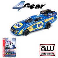 Auto World 4Gear NHRA R21 Ron Capps Auto Parts 2018 FC HO Scale Slot Car