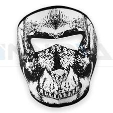 Néoprène Squelette Intégral Skull Masque Réversible Moto Ski Quad