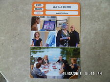 CARTE FICHE CINEMA 2009 LA FILLE DU RER Emilie Dequenne Catherine Deneuve