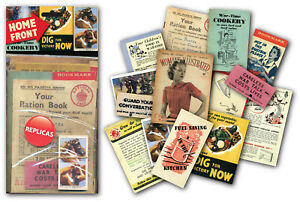 Home Front Memorabilia Gift Pack with over 20 pieces of Replica Artwork