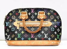Original Louis Vuitton ALMA Monogram Canvas Multicolor Vintage Tasche
