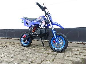RV-Racing Pocketbike Dirtbike Cross Bike Crossbike Kindercross Pocketcross Blau