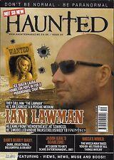 Haunted paranormal magazine Ian Lawman Laura Hamilton Celebrity graves President
