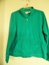 Womens Energie Zone Green Fleece Jacket  Sz (L)