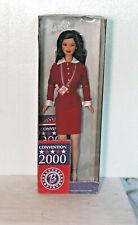 New in Box, Rare Asian American Barbie Mattel 2000 Democrat National Convention