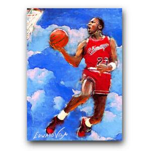 Michael Jordan #3 Sketch Card Print Edward Vela