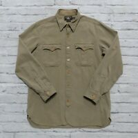 RRL Double RL Western Shirt Size L Ralph Lauren Vtg