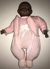 "Grace S. Putnam Black African American Bye-Lo Baby Doll 18"" Frog Body"
