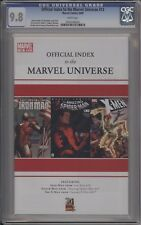 OFFICIAL INDEX TO THE MARVEL UNIVERSE #12 - CGC 9.8 - 0164106020