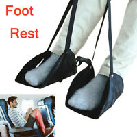 Comfy Hanger Travel Airplane Footrest Hammock Made Premium Memory Foam Foot UK