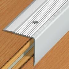 200cm 20mm x 20mm NEZ DE MARCHE aluminium bande rebord d/'escalier intérieur 2m
