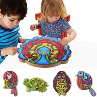 Kids Magnetic Maze Toys Kids Wooden Game Toy Wooden Intellectual Jigsaw Board D