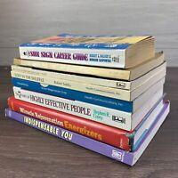 Rare Self-help book lot,business building,improvement,success 8 books