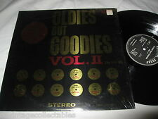 Oldies But Goodies Vol 2 Doo Wop Rock Roll Velvetones Turbans Clovers Record LP