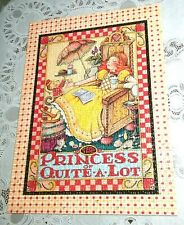Mary Engelbreit 1000 pc Puzzle The Princess of Quite A Lot , Vgc