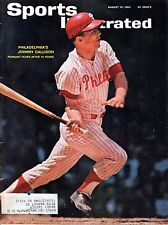 1964 8/10 Sports Illustrated magazine, baseball, Johnny Callison, Phillies GOOD