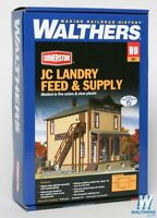 Walthers 933-3662 JC Landry Feed and Supply Kit HO Scale Train