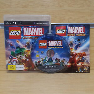 LEGO Marvel Super Heroes Playstation 3 PS3 Game Disc w/ Manual