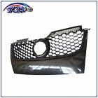 MAIN UPPER HEX MESH GRILLE - Carbon Fiber Print For 06-09 VW MK5 JETTA/GLI/GTI