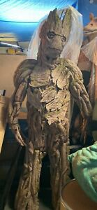 Professional Guardians Of The Galaxy Groot Costume Cosplay Prop Custom Statue