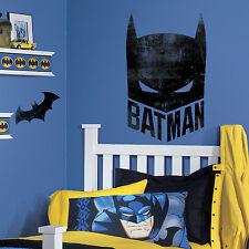 BATMAN MASK GIANT WALL DECALS Bat Man Stickers DC Comics Bedroom Decorations