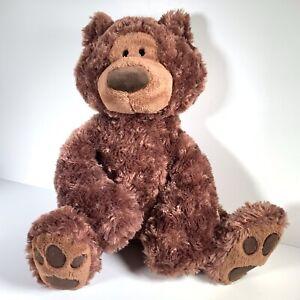 "Gund Large 17"" Philbin Chocolate Brown Bear Sitting Retired"