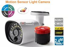 CCTV Camera Alarm Speaker At Night IR 20M PIR Sensor Security Cameras Outdoor