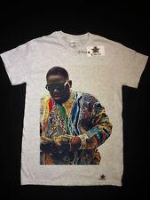 Notorious BIG Rap Grigio T-Shirt SMALL Biggie