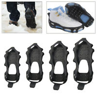 24 Stud Crampons Anti Slip Ice Climbing Grip Snow Shoes Spike Grippers Ice Cleat