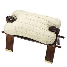 Sitzbänke & Hocker im orientalischen/asiatischen Stil aus Leder