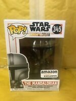 The Mandalorian Chrome Funko Pop Star Wars Mandalorian AMAZON exclusive IN STOCK
