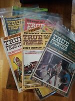 12 TRUE FRONTIER Magazines 1967-1972 Actual Stories of the West