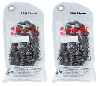"""24"""" Chainsaw Saw Chain  PACK OF 2 CHAINS .325 Pitch 1.5mm Guage 94 Drive Link"""