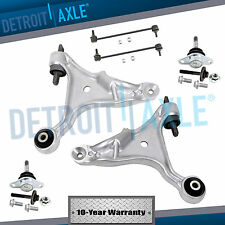 New 6pc Front Lower Control Arm Suspension Kit for 2001-07 Volvo S60 V70