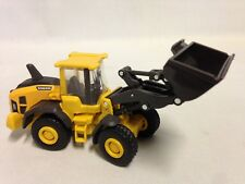 "Volvo 60H Wheel Loader 5.5"" Diecast With Plastic Construction New Ray Toy Yellow"